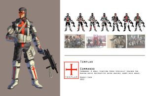 Templar Commando by CrazyAsian1