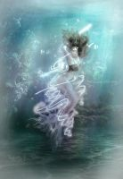 Magic in the Sea - Elemental Queens - Water by MLArtistry