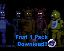 fnaf 1 pack download [C4D] by maximorrahd