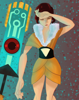 Red from Transistor by PurpleLava8
