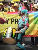 drumming in the parade by amitm123