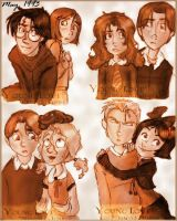 Young Love in Potterverse by louloudia1983