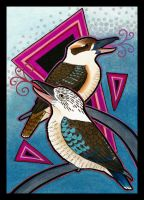 Kookaburra as Totem Redo by Ravenari