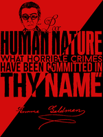 Poor Human Nature by OmicronPhi