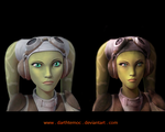 Hera Syndulla - Revisited by DarthTemoc
