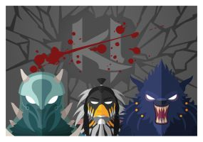 Killer Instinct Minimalist Poster by mdk7