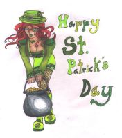 Happy belated St.Patricks Day by huliochan13