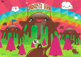 Chocolate Park by llcloverll