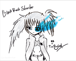Black Rock Shooter by tiaproject