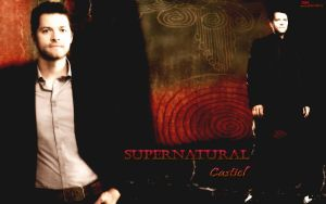 Supernatural - Castiel by Lauren452