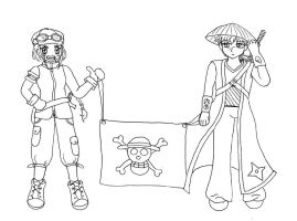 One Piece Pirates Groupies-WIP by serena-inverse