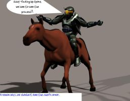 Legend of Halo 1 by Robotlouisstevenson