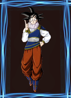 Goku Normal by elninja75