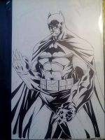 Batman Dark Knight by DamageArts