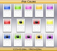 iPod Colors by Steve-Smith