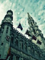 Grand Platz Bruxelles by dianora