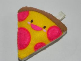 Felt Pizza by Pandannabelle