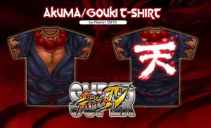 Akuma T-shirt Contest by Nerkin