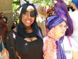 Madam Pinky Pie and Future Twilight AkonDallas2012 by BunnyLoca