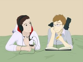 Earbuds and Headphones by n4c9s