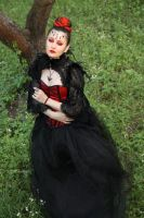 in red and black 01 by Anna-LovelyMonster