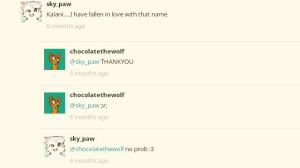 The one person that liked my name by chocolatethedog