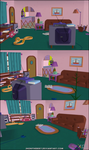 The Simpsons Hit and Run - Room by JhonyHebert