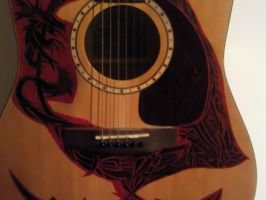 Guitar Art- S and P: Study 6 by EndsOfInvention