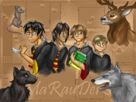 Marauders Original by Phoeline