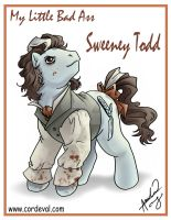 My Little Bad Ass Sweeney Todd by Amelie-ami-chan