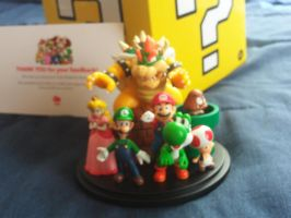 My Mario Characters Figurine by MarioSimpson1