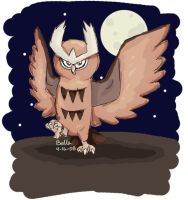 Noctowl by l2ainbird