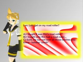 Len Dating Sim MMD by DeathNoteE
