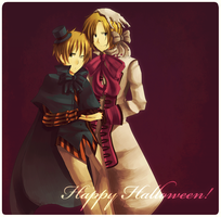 Happy Halloween by chienoir