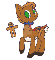 Advent Calendar - Day 1 - Gingerbread by mousse-soda