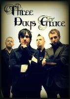 Three Days Grace by KiwiXD