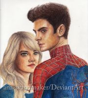 Peter and Gwen by ana-wandmaker