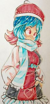 |Traditional Draw| Winter Fashion by animorphsfan