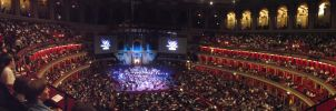 FF: Distant Worlds 2011 Royal Albert Hall Panorama by NrogueO14thAparadoxH