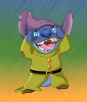 Stitch As Dopey by Janeckb