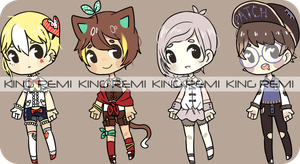 King-Remi Collab 4 (set price) OPEN [1/4] by remiita