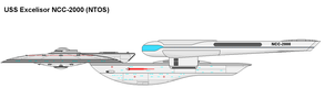 USS Excelsior NTOS by PaintFan08