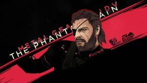 Metal Gear Solid V. The Phantom Pain by akyanyme