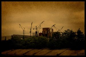 Chernobyl Reactor 5 and 6 by KasFEAR