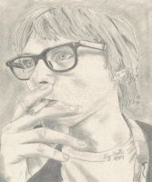 Kurt Cobain in '92 by OnlyTy