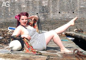 Megsy Vicious Pin-up Shoot 02 by memersonphotographic
