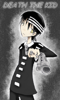 Soul Eater-Death The Kid by hermyon