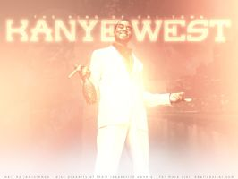 Kanye West King of Chi-Town by JaminLemon