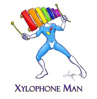 Xylophone Man by DaineN