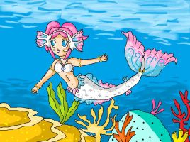 mermaid ulala by ninpeachlover